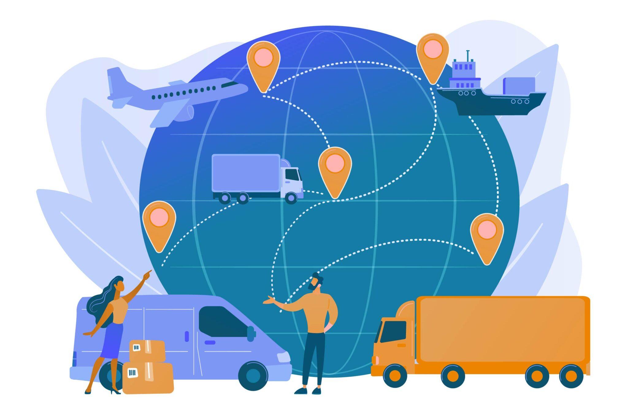 Real-time transportation visibility platforms